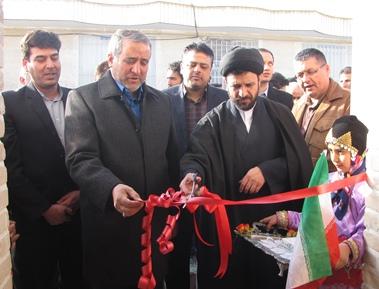 افتتاح پروژه هاي شهرداري بسطام در دهه فجر
