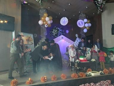 جشن تولد كودكان يتيم و نيازمند در بسطام برگزار شد